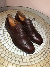 Men's Roberto Botticelli WIngtip Brown Leather Shoes size 10