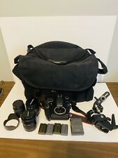 Canon EOS 40D 10.1MP Digital SLR - Camera Kit multiple Accessories