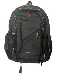 Swissgear Large Backpack Rucksack Black with Red Laptop Space