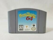 Bass Hunter 64 (Nintendo 64 - N64) Cartridge - Authentic, Tested & Working