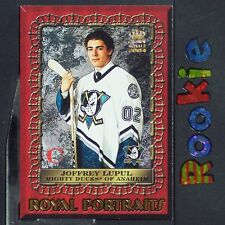 JOFFREY LUPUL  RC  2003-04 Crown Royale Royal Portraits #1  Anaheim Ducks ROOKIE