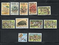 SOLOMON ISLANDS STAMPS  USED  LOT 22600