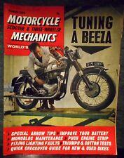 Motorcycle Mechanics March 1966 original vintage magazine, scooter, 3-wheeler