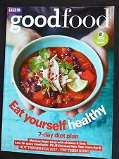 BBC Good Food, January 2017,  Eat Yourself Healthy, Chinese New Year Menu For 6