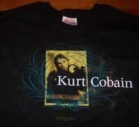 KURT COBAIN NIRVANA T-Shirt SMALL 2005 NEW
