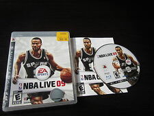 Playstation 3 PS3 complete in box NBA Live 09 tested