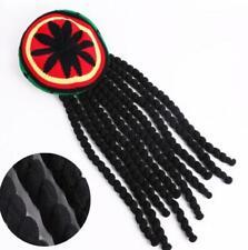 Bob Marley Reggae Rasta Jamaicano Sombrero de la boina del Caribe Dreadlocks Vestido casquillo de la peluca