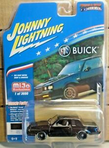 JOHNNY LIGHTNING 1987 BUICK GRAND NATIONAL GNX TURBO 1:64 DIE CAST CAR 1 / 3600