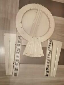 pont tournant d'entrepôt manuel avec fosse et  2 rampe  jouef