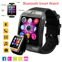 Q18 Smart Wrist Watch Bluetooth Waterproof GSM Phone For iPhone Android Samsung
