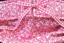 NEW! LULIBOOS DESIGNER DOG PANTY BRITCHES DIAPER FUCHSIA FLOWERS ON PLISSEE