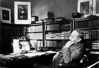 Portrait Of Italian Composer Arrigo Boito In His Study OLD PHOTO