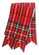 NUOVA linea uomo calze per kilt flashesroyal Stewart colore / Highland calze per kilt calzini lampeggia