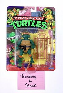 TMNT Classic *Michaelangelo* Action Figure Nickelodeon Playmates Free Shipping