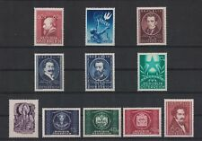 AUSTRIA 1949 Stamps - Complete Year 1949, incl. Semi-Postals. All MNH / XF.