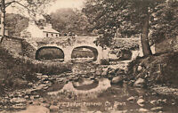 Old Bridge, Rostrevor, Co. Down, Northern Ireland Rare Vintage Postcard (1916).