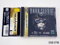 Dark Seed 2 Sega Saturn Japanese Import SS Japan JP Darkseed II US Seller B