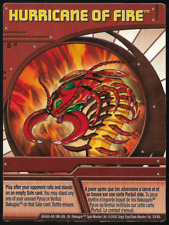 Bakugan Battle Brawlers Ability Card Hurricane of Fire (Centipoid) BA469 30/48i