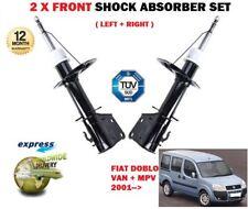 per Fiat Doblò 1.2 1.3 1.6 1.9 2001->2x Ant Sx + DESTRO AMMORTIZZATORI Set