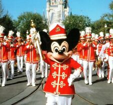Mickey marching band Main St. Walt Disney World Resort Florida Vintage Postcard