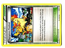 POKEMON WORLDS PROMO 2015 XY91 CHAMPIONS FESTIVAL ENGLISH PIKACHU RAPIDASH