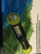 Monster Flash Light 500 Lm With Front And Top Led And  Bottom Magnetic Base