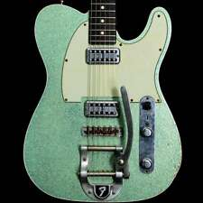 Fender Custom Shop Sea Foam Green Sparkle Telecaster with Bigsby, Pre-Owned
