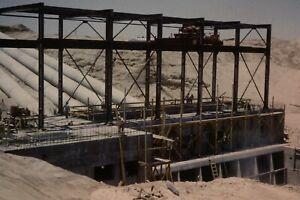 WELLTON MOHAWK CANAL CONSTRUCTION 35MM SLIDE (CIRCA 1950`S) LOT L123