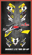 Suzuki LTZ 400 09 and newer ATV sticker kit Semi Custom Service DETOX2
