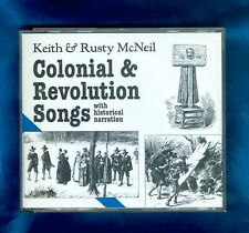 Keith, Rusty McNeil Colonial & Revolution Songs w/ Historical Narration 2 CD Set