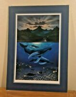 "WYLAND ART PRINT ""DAWN OF CREATION"" SIGNED & NUMBERED 127/750"