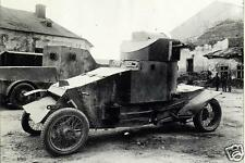 "German Armored Vehicle 1915 World War 1, 6x4"" reprint photo"