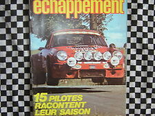 revue 1979 RENAULT 5 ALPINE GR.2 / ALFASUD Ti / ARC GERI MAMBO echappement n°124