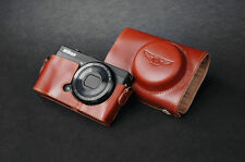 Handmade Genunie real Leather full Camera Case cover bag for Nikon COOLPIX P330