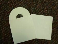 "25 CD DVD CARDBOARD SLEEVE, WHITE 5"" x 5""  SF09"