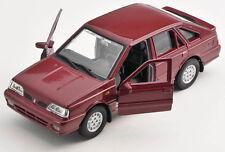 BLITZ VERSAND Polonez Caro Plus bordeaux Welly Modell Auto 1:34 NEU & OVP