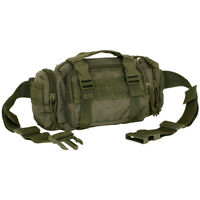 NEW - Military Deployment Utility MOLLE Waist Pouch Bag - OD GREEN OLIVE DRAB