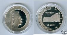 Luxemburgo 25 euro 2006 ue-comisión será plata pp