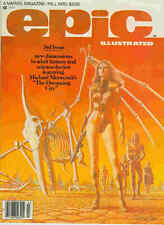 Epic Illustrated # 3 (Tim Conrad, Paul Gulacy, Jim Starlin) (USA, 1980)