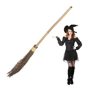 Hexenbesen Kinder Reisigbesen Hexenzubehör Erwachsene Zauberbesen Besen Hexe
