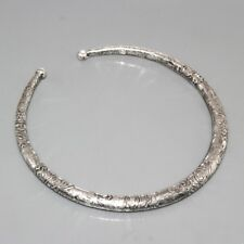 J11737   Handmade & 925 Silver Overlay HASLI STYLE Necklace ADJUSTABLE Jewelry