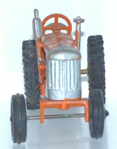 OS05 spare Crescent diecast tractor. Front axle stuck in place