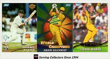 Cricket Card Set-2000 Topps ACB Gold Cricket Trading Cards Base Set (137)