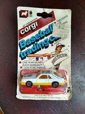1982 CORGI #407 FORD MUSTANG MILWAUKEE BREWERS BASEBALL TRADING CAR