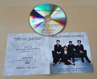 THE RANKIN FAMILY These Are The Moments (Straight Into Love) UK 1-track promo CD