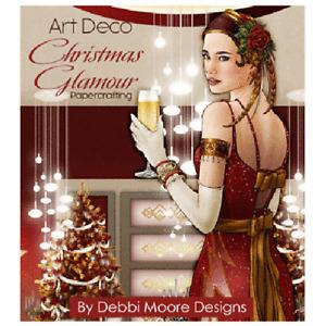 Debbi Moore Designs Art Deco Christmas Glamour Papercrafting CD Rom (676863)