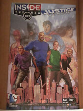 All-Star BKN-NYC 2015 Inside The NBA / Justice League DC Promotional Comic Book