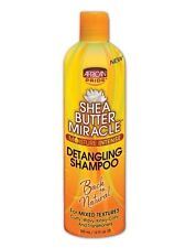 African Pride Shea Butter Miracle Detangling Shampoo For Mixed Textures 12oz