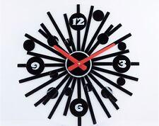 "A Decorative fused glass Wall clock ""Shining"""