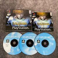 Galerians PS1 PlayStation 1 PAL Game Complete Big Box Rare Survival Horror